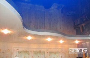 двухуровневый натяжной потолок купить в минске