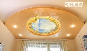белый натяжной потолок купить