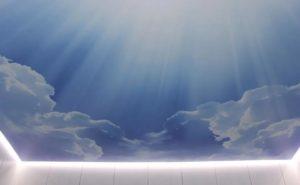 Парящий потолок облака фото