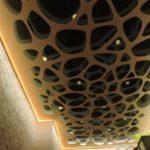 коридор натяжной потолок эплай
