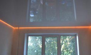 парящий натяжной потолок скидки