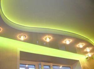 Натяжной потолок с подсветкой недорого Минск минская область
