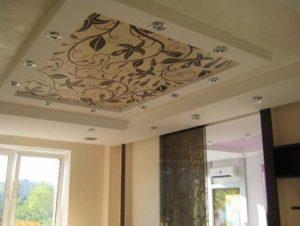 тканевый натяжной потолок цена