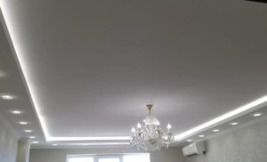 тканевый натяжной потолок цена минск