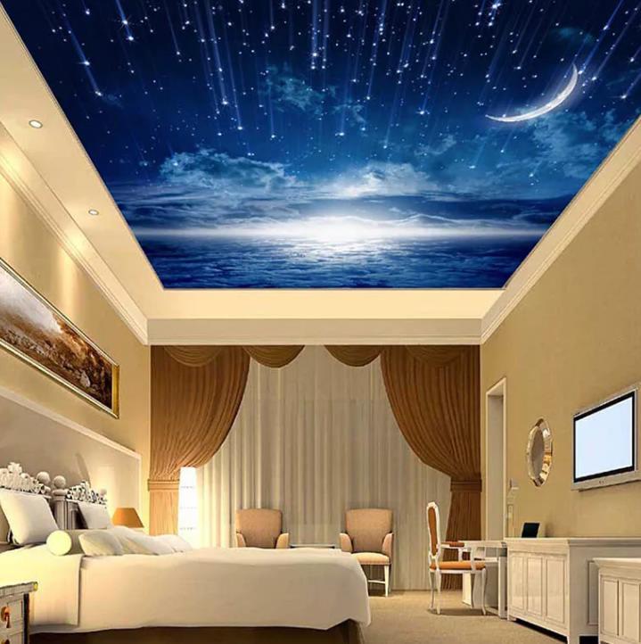 натяжной потолок звездное небо 15