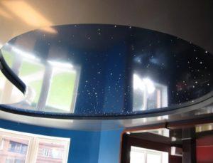 натяжной потолок звездное небо 19