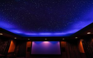 натяжной потолок звездное небо 20