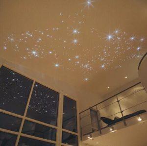 натяжной потолок звездное небо 6