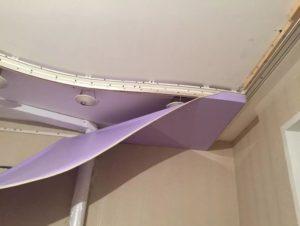 натяжной потолок с подсветкой 10