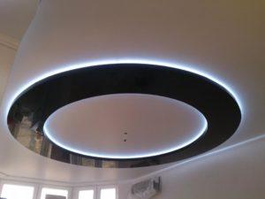 натяжной потолок с подсветкой 12
