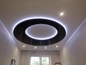 натяжной потолок с подсветкой 13