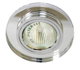 точечный светильник для натяжных потолков 4