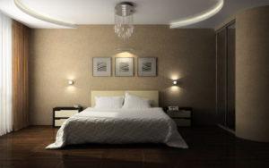 Натяжной потолок в спальню 8