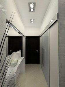 натяжной потолок в коридоре 29