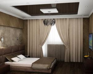 Натяжной потолок в спальню 5
