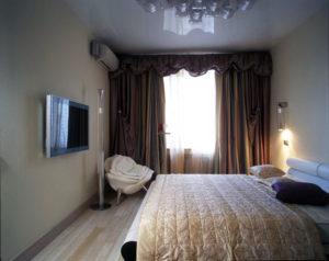 Натяжной потолок в спальню 4